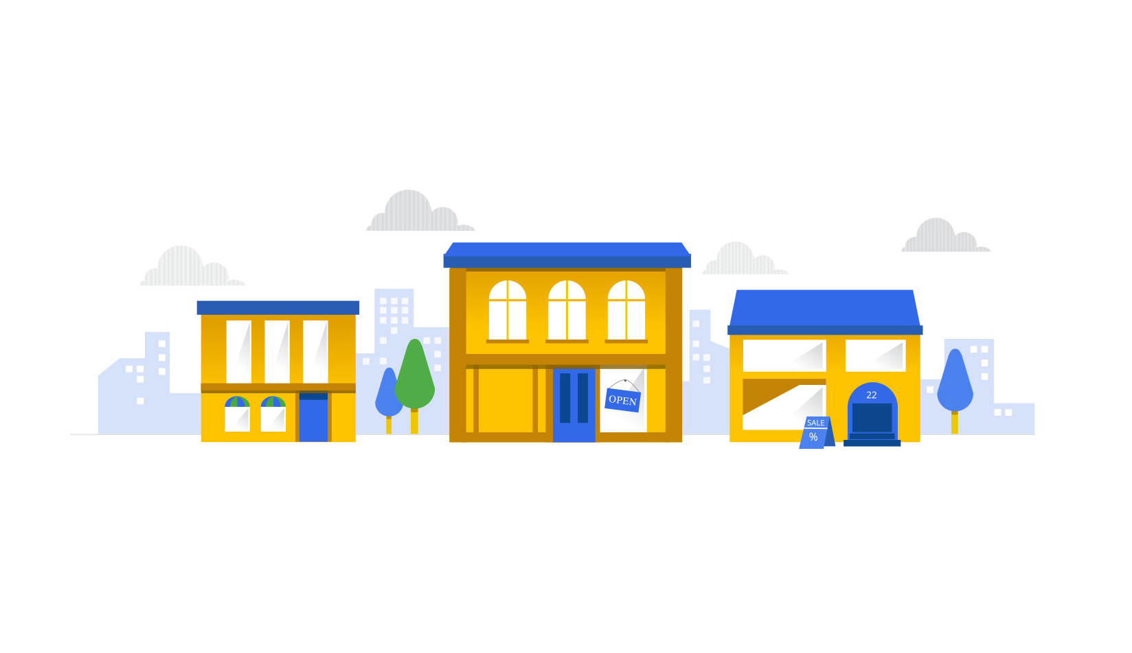 Made True illustration for Retail Gone Google